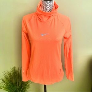 Nike Running Dri Fit Cowl Neck Long Sleeve Top